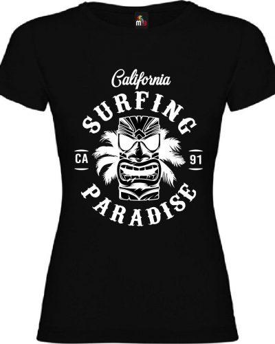 Camiseta Surfing Paradise