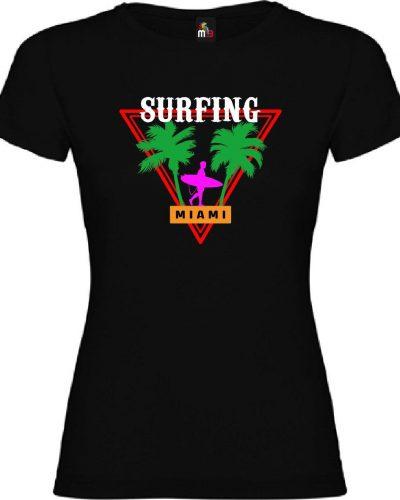 Surfing Miami